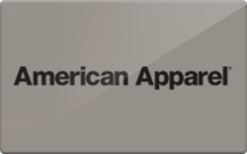 Sell American Apparel Gift Cards | Raise