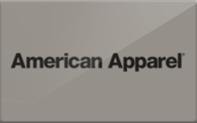 Buy American Apparel Gift Card