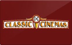 Buy Classic Cinemas Gift Card