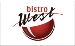 Buy Bistro West Gift Card