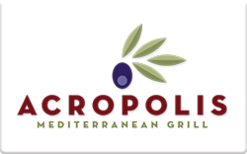 Sell Acropolis Mediterranean Grill Gift Card