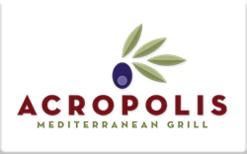 Buy Acropolis Mediterranean Grill Gift Card