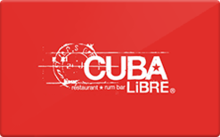 Sell Cuba Libre Gift Card