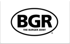Sell The Burger Joint Gift Card