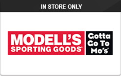 Sell Modell's Sporting Goods (In Store Only) Gift Card