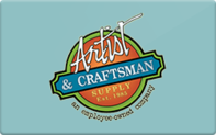 Buy Artist & Craftsman Gift Card