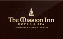 Sell The Mission Inn Gift Card