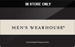 Buy Men's Wearhouse (In Store Only) Gift Card