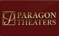 Buy Paragon Theaters Gift Card