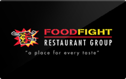 Sell Food Fight Restaurant Group Gift Card