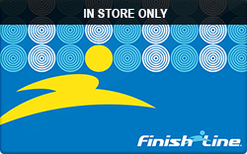 Sell Finish Line (In Store Only) Gift Card