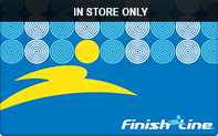 Buy Finish Line (In Store Only) Gift Card