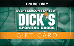 Sell Dick's Sporting Goods (Online Only) Gift Card