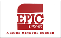 Buy Epic Burger Gift Card