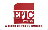 Buy Epic Burger Gift Card
