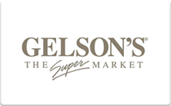 Buy Gelson's Gift Card