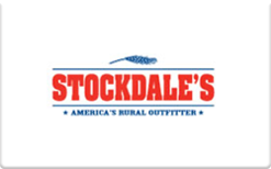 Sell Stockdale's Gift Card