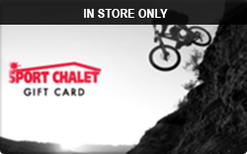 Sell Sport Chalet (In Store Only) Gift Card