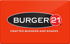 Buy Burger 21 Gift Card