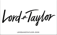 Buy Lord & Taylor Gift Card