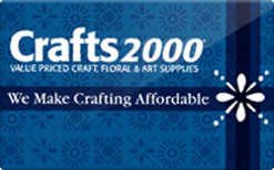 Sell Crafts2000 Gift Card