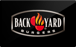 Buy Back Yard Burgers Gift Card