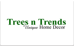 Sell Trees n Trends Gift Card