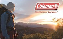 Sell Coleman Gift Card