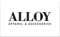 Buy Alloy Apparel Gift Card