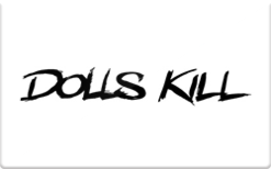 Sell Dolls Kill Gift Card