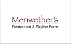 Sell Meriwether's Restaurant & Skyline Farm Gift Card