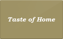Sell Taste of Home Gift Card