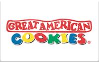 Buy Great American Cookies Gift Card