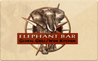 Buy Elephant Bar Gift Card