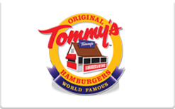 Sell Original Tommy's Hamburgers Gift Card