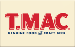 Sell T.MAC Gift Card