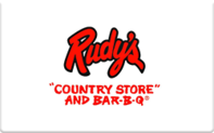 Buy Rudy's Gift Card