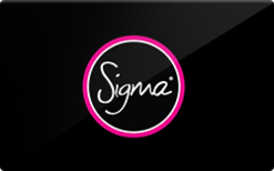 Sell Sigma Gift Card