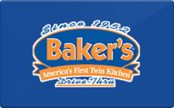 Sell Baker's Drive Thru Gift Card