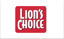 Buy Lion's Choice Gift Card