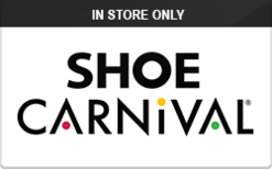 Sell Shoe Carnival (In Store Only) Gift Card