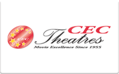 Sell CEC Theatres Gift Card