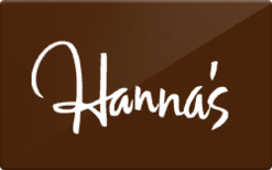 Sell Hanna's Gift Card