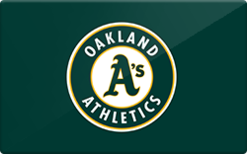 Sell Oakland Athletics Gift Card