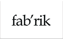 Sell fab'rik Gift Card