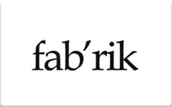 Buy fab'rik Gift Card