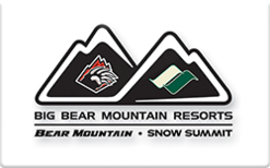 Sell Big Bear Mountain Gift Card