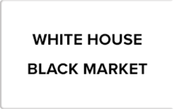 Sell White House Black Market Gift Card