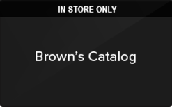 Sell Brown's Catalog (In Store Only) Gift Card