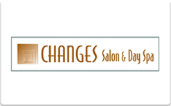 Sell Changes Salon & Day Spa Gift Card